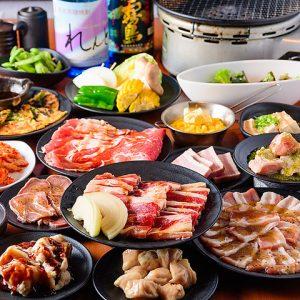 焼肉食べ放題 カルビ市場 博多駅筑紫口店の焼肉食べ飲み放題コース